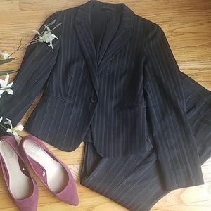 Express Design Studio Pinstripe Suit